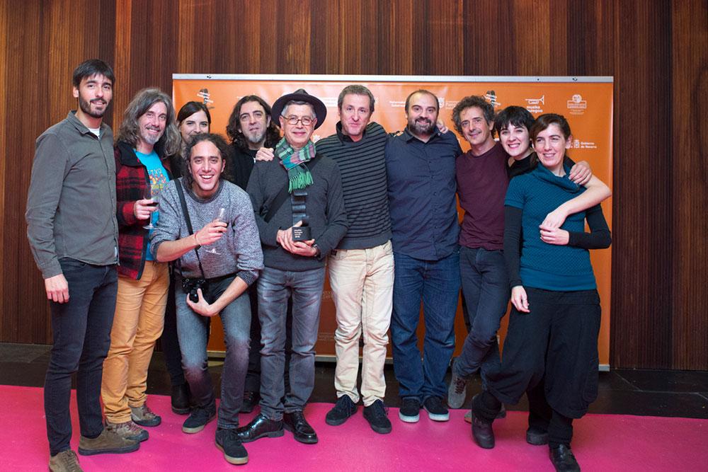 Tosta Banda wons the Musika Bulegoko Saria Award